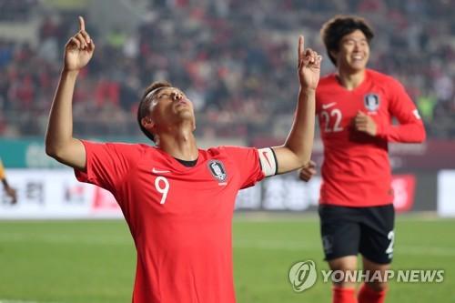 월드컵 2차 예선 한국-스리랑카전 시청률 9.5%