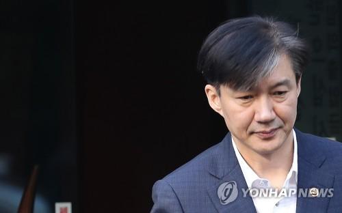 """조국, 윤석열 의혹 보도에 """"특별히 드릴 말씀 없다"""""""