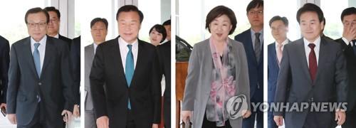 여야 대표 정치협상회의 '반쪽' 출발…檢개혁법 처리 논의(종합)