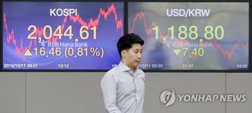 금리인하 기대 속 9월 외국인 채권자금 11억달러 순유입