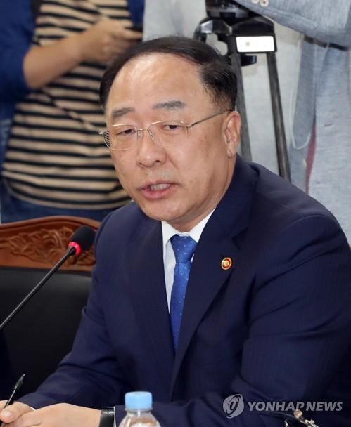 홍남기, G20재무장관회의 참석차 방미…뉴욕서 韓경제 IR