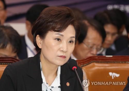 """김현미 """"이달 말쯤 1·2기 신도시 교통대책 발표"""""""