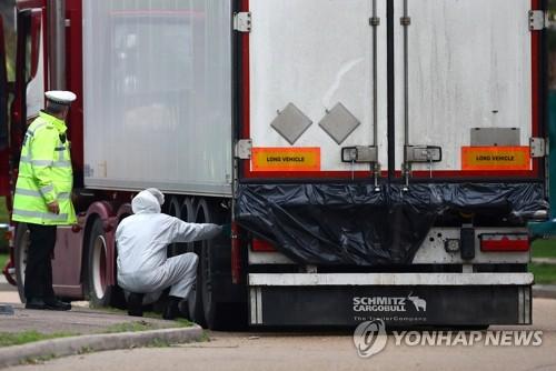 베트남, 英 냉동 트럭 비극 수사 공조 위해 경찰 파견 추진