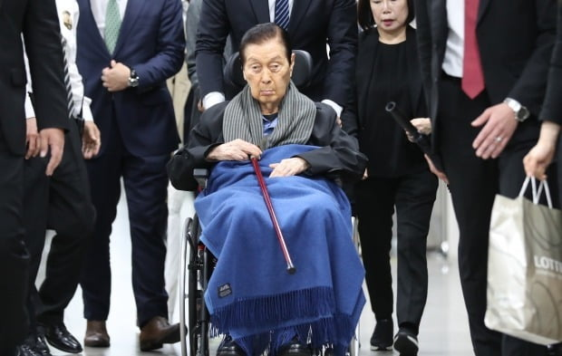 신격호 롯데그룹 총괄회장 /사진=연합뉴스