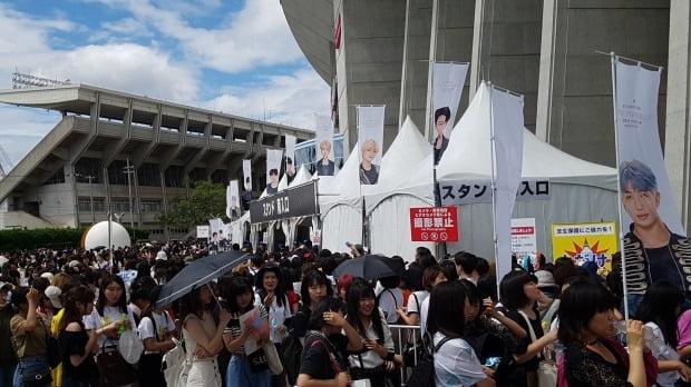 BTS 일본 스타디움 투어 /사진=연합뉴스