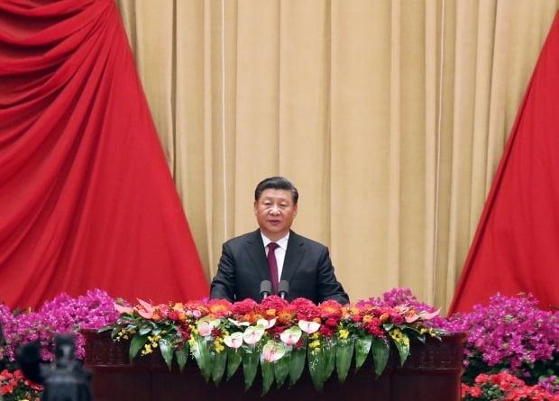 시진핑 신중국 70주년 행사서 홍콩 언급 / 사진=연합뉴스
