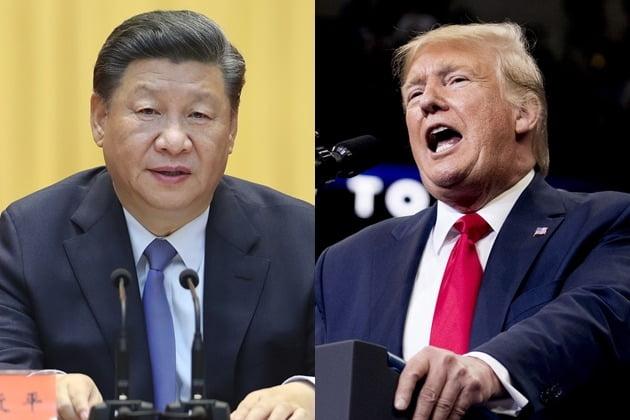 시진핑 트럼프 /사진=AP