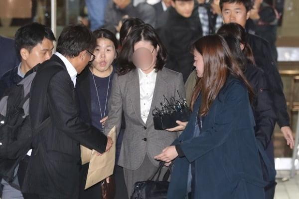 정경심 구속 후 두 번째 소환 조사 /사진=연합뉴스