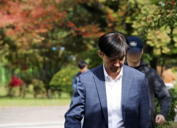 부인 접견 마친 조국 전 장관 (사진=연합뉴스)