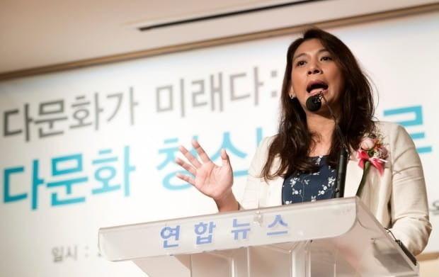 이주민으로서 처음 대한민국 국회의원이 된 이자스민 전 의원이 정의당에 입당한 것으로 알려졌다. / 사진=연합뉴스