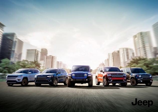 미국 SUV 전문 브랜드 지프가 지난달 역대 월 판매 최고 실적을 달성한 것으로 나타났다. 주요 모델의 신차 발표와 다양한 마케팅이 한국 소비자들에게 통한 것으로 분석된다. [사진=FCA코리아]