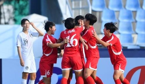U-19 여자축구 북한에 패 / 사진 = AFC 홈페이지 제공