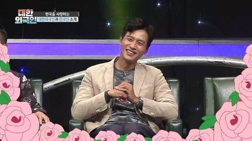 지난 6일 방송된 MBC에브리원 '대한외국인'에서 구본승은 대한외국인 팀과 초성 퀴즈 대결을 펼쳤다. / 사진=MBC에브리원 '대한외국인' 캡처