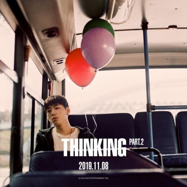 지코 솔로 정규 앨범 'THINKING' Part.2' / 사진제공=KOZ엔터테인먼트