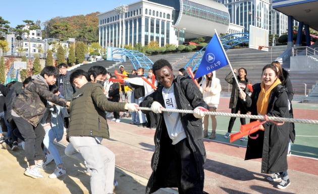 백석대·백석문화대, 2019 외국인 유학생 체육대회 개최