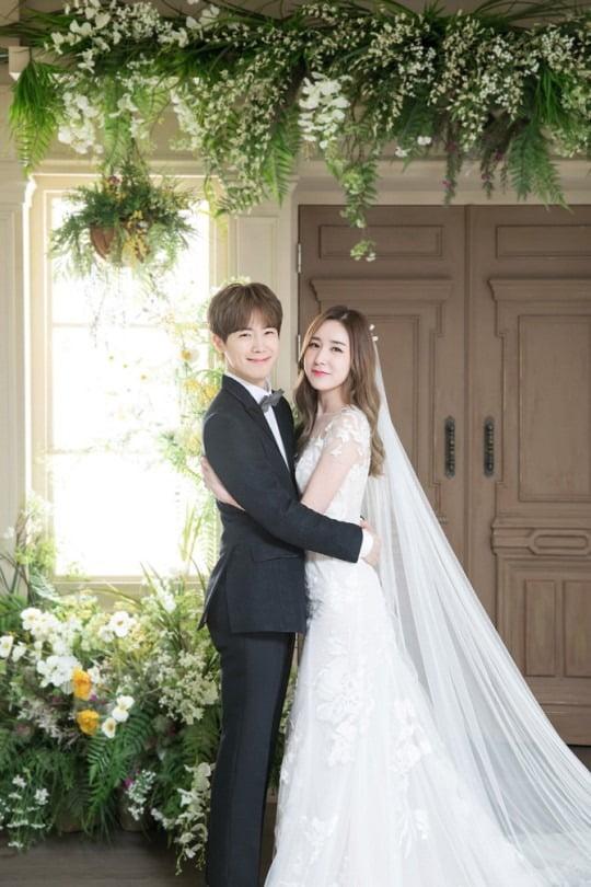 황바울 간미연 결혼 /사진=모더니크 스튜디오 제공