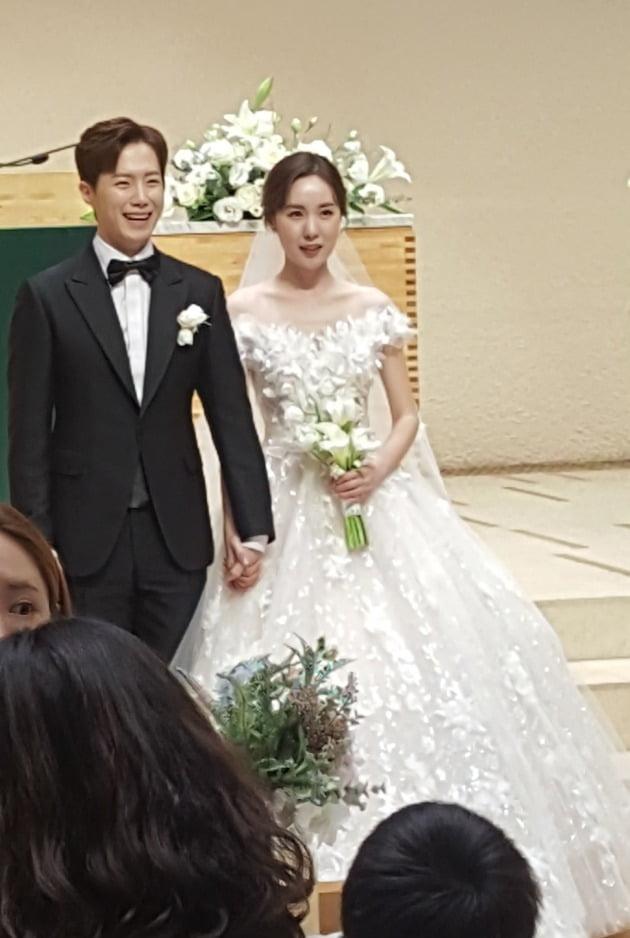 황바울 간미연 결혼식 /사진=드림스톤엔터테인먼트 제공
