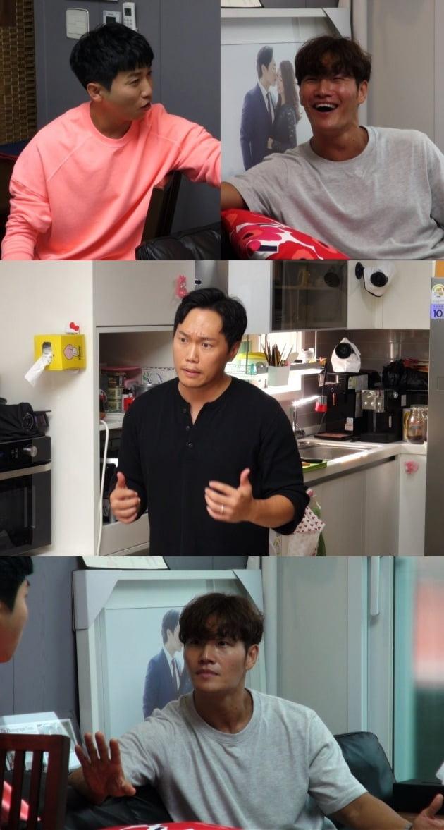 '미우새' 송진우 /사진=SBS 방송화면 캡처
