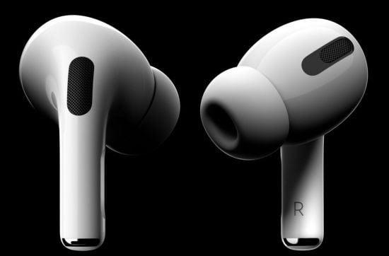 애플의 프리미엄 무선 이어폰 '에어팟 프로'(사진=애플코리아)