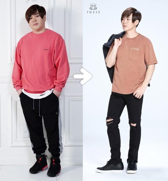 문희준 17kg 감량 성공/사진=쥬비스