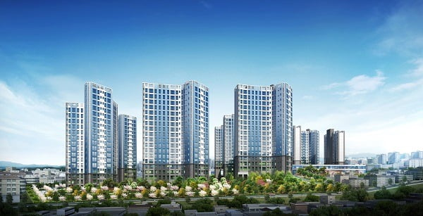 동대구역 현대건설 라프리마 조감도