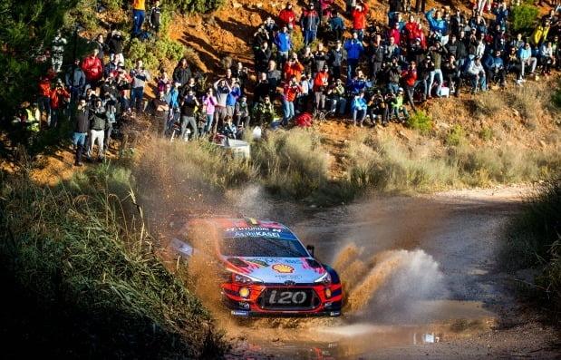 현대차가 2019 WRC에서 한국팀 사상 최초로 종합 우승을 달성했다. 사진=현대자동차