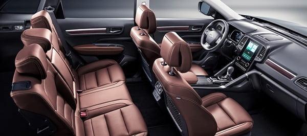 르노삼성 더 뉴 QM6는 중형 SUV답게 넉넉한 공간을 갖췄다. 사진=르노삼성자동차