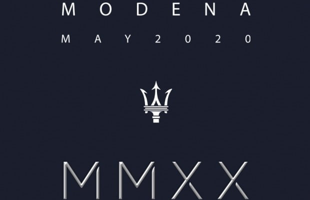 마세라티가 'MMXX'라는 티저 이미지를 내걸고 전동화 시대 시작을 알렸다. 사진=마세라티