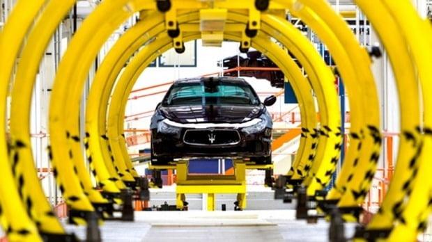 마세라티 모데나 공장에서 차량이 생산되고 있다. 사진=마세라티