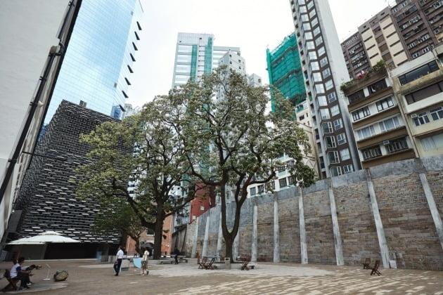 예전에는 홍콩경찰서 건물이었던 타이퀸