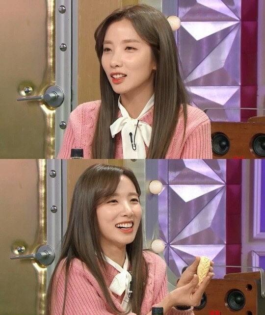 지숙, 이두희 러브스토리 공개/사진=MBC '라디오스타'