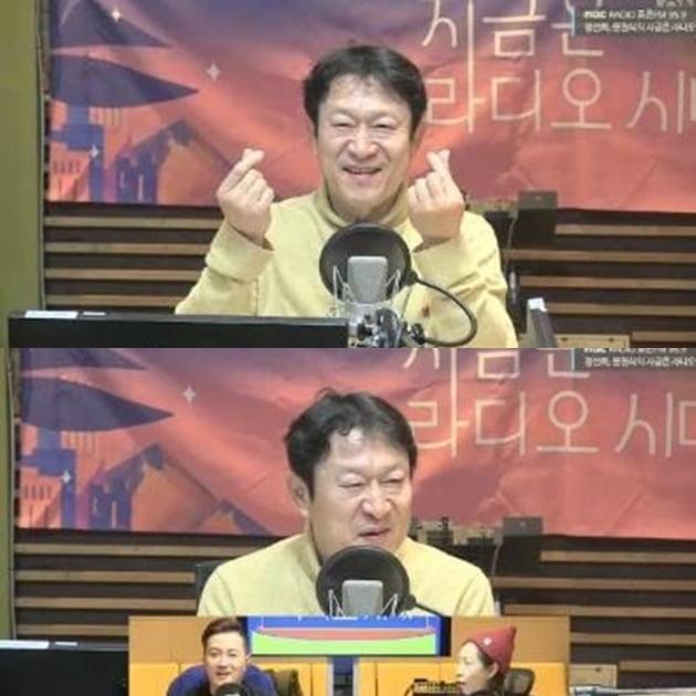 '지라시' 김응수/사진=MBC 표준FM '정선희, 문천식의 지금은 라디오시대' 영상 캡처