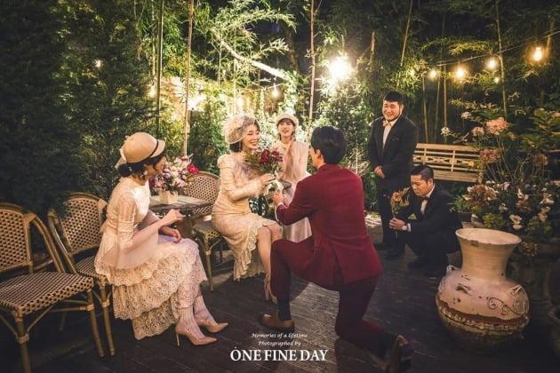 나비 결혼 /사진=나비 SNS