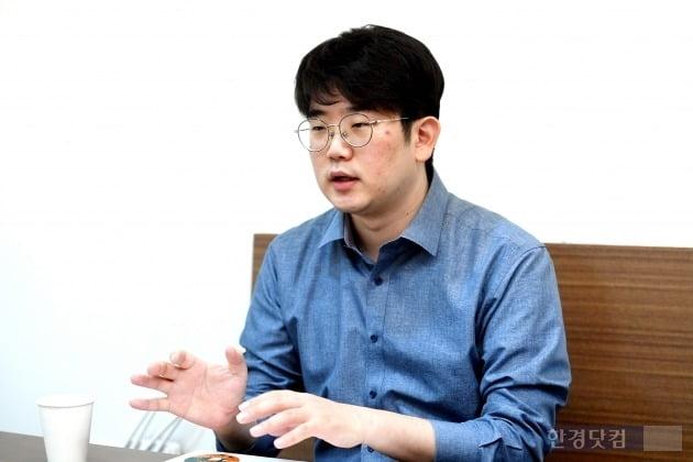 지난달 24일 이문주 대표를 서울 삼성동 본사에서 만났다. 이 대표는 쿠캣 사업 방향에 대해 설명했다. 사진 = 최혁 기자