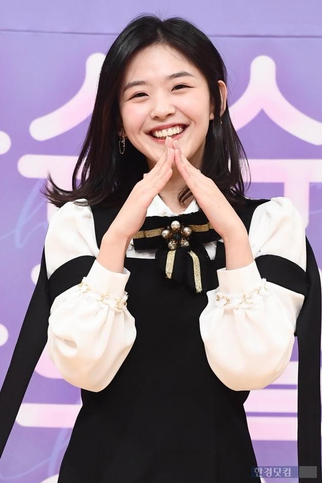 [포토] 김시은, '귀여워~귀여워~'