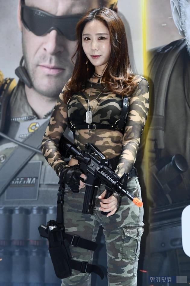 [포토] 김하음, '강렬한 눈빛 발사' (지스타 2019)