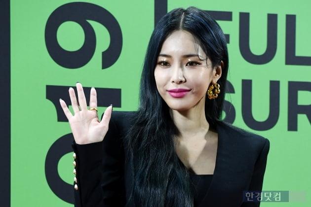 [포토] 헤이즈, '아름다운 미모 뽐내며~' (2019 멜론뮤직어워드)