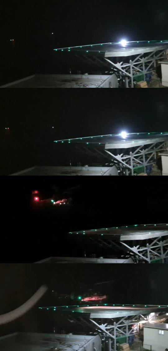 KBS가 공개한 독도 헬기 추락사고 관련 영상. /사진제공=KBS