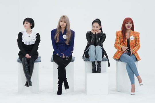 '주간아이돌'에 출연한 걸그룹 브라운아이드걸스./사진제공=MBC에브리원