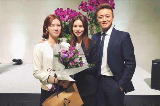 진태현·박시은 부부와 딸 세연 양. /사진=진태현 인스타그램