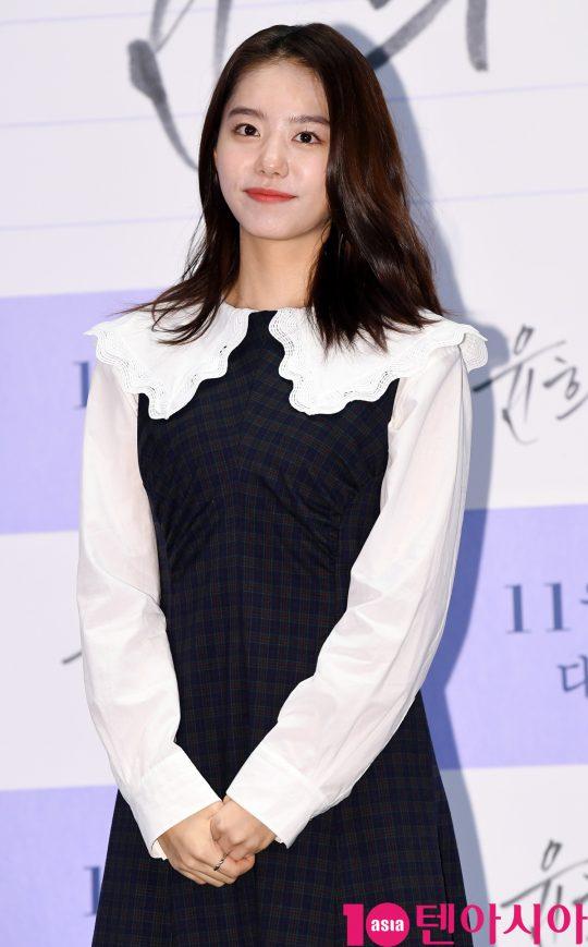 처음 출연한 영화 '윤희에게'를 선보인 배우 김소혜. /조준원 기자 wizard333@