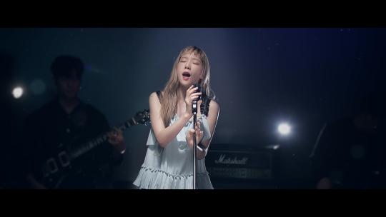 사진=가수 태연 '숨겨진세상' 뮤직비디오 티저 캡처.