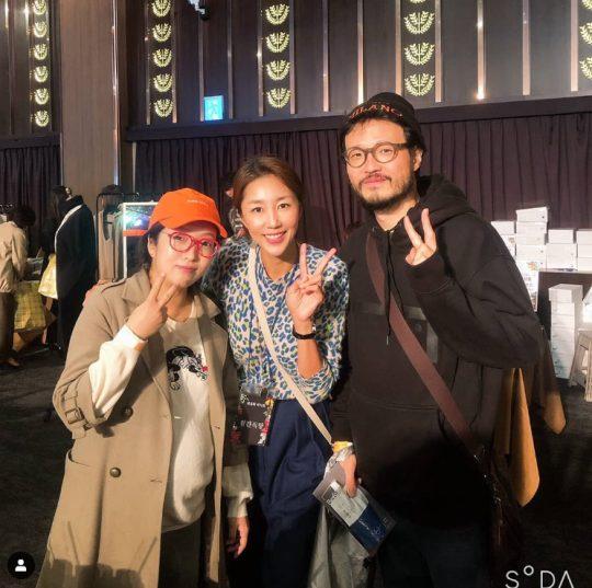 정인(왼쪽부터), 전미라, 조정치./ 사진=인스타그램