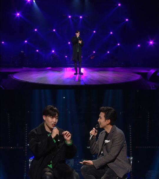 '유희열의 스케치북'에 첫 출연한 가수 픽보이/사진= KBS2 제공