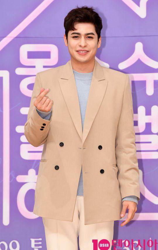 크리스티안 부르고스가 8일 오후 서울 목동 SBS홀에서 열린 SBS 모비딕 드라마 '몽슈슈글로벌하우스' 제작발표회에 참석했다. /조준원 기자 wizard333@