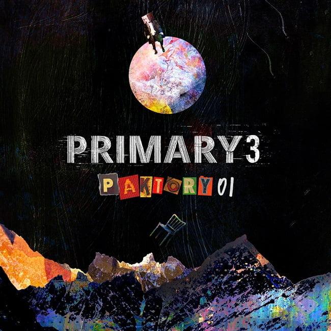프라이머리, 8일 숫자 연부작 첫 번째 이야기 '3-PAKTORY01' 발매