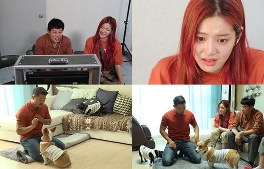 '개는 훌륭하다' 이경규, 이유비, 강형욱 (사진= KBS 2TV 제공)