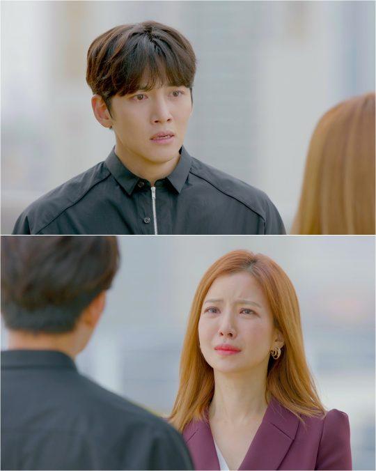 '날 녹여주오'의 지창욱, 윤세아./사진제공=tvN