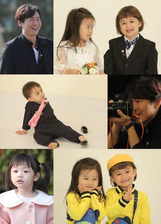 '슈퍼맨이 돌아왔다' 달력 촬영 현장. /사진제공=KBS2