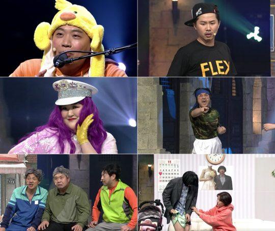 '코미디빅리그' 4쿼터 6라운드 녹화 현장. /사진제공=tvN